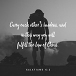 Verse Image: Galatians 6:2