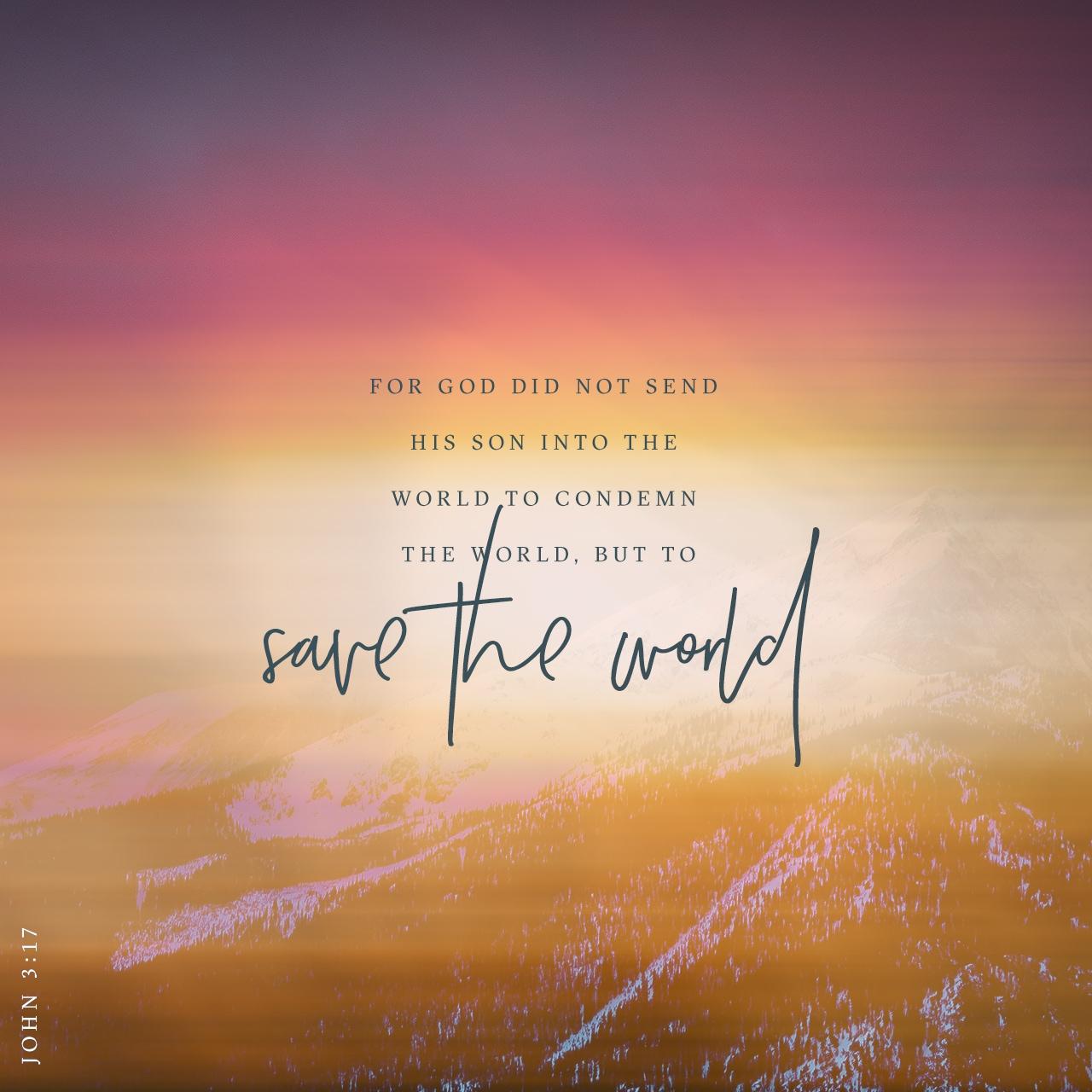 John 3:17 Verse Image