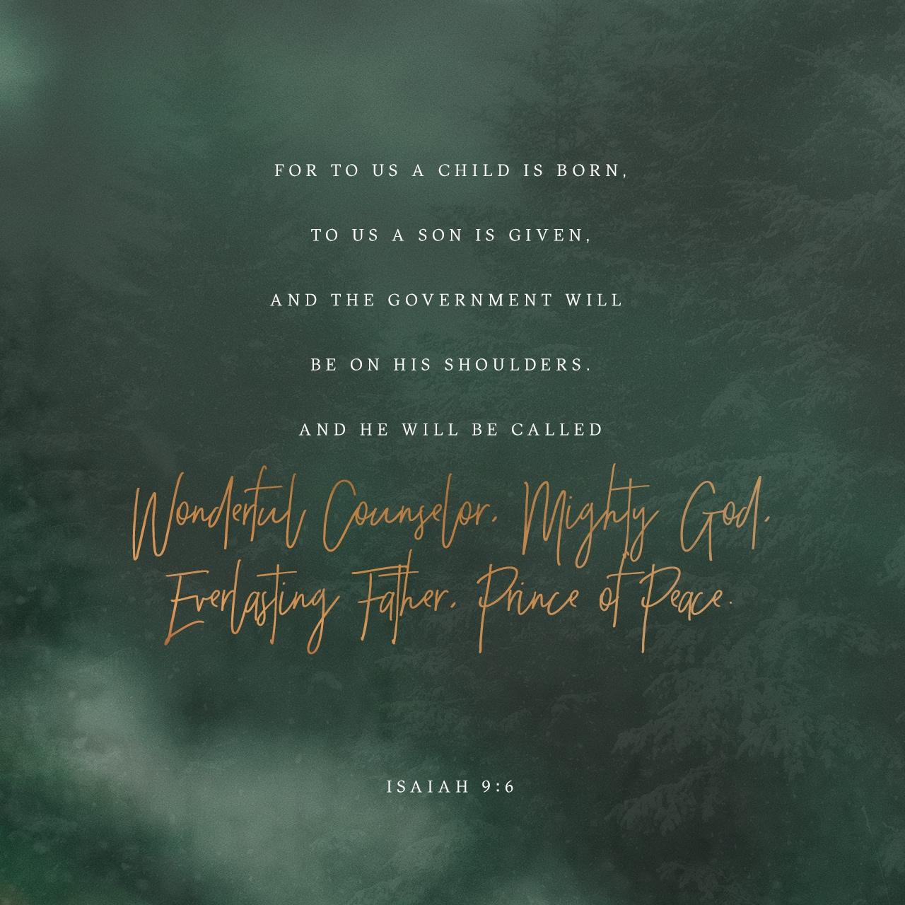 Isaiah 9:6 Verse Image
