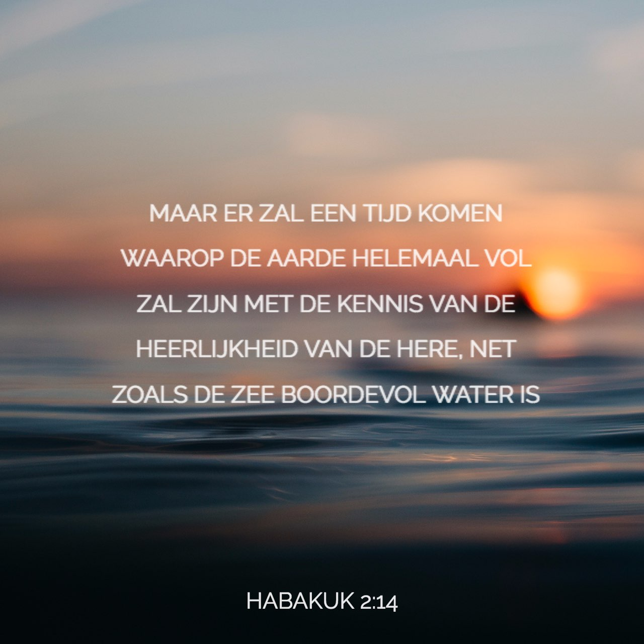 Versafbeelding van Habakkuk 2:14