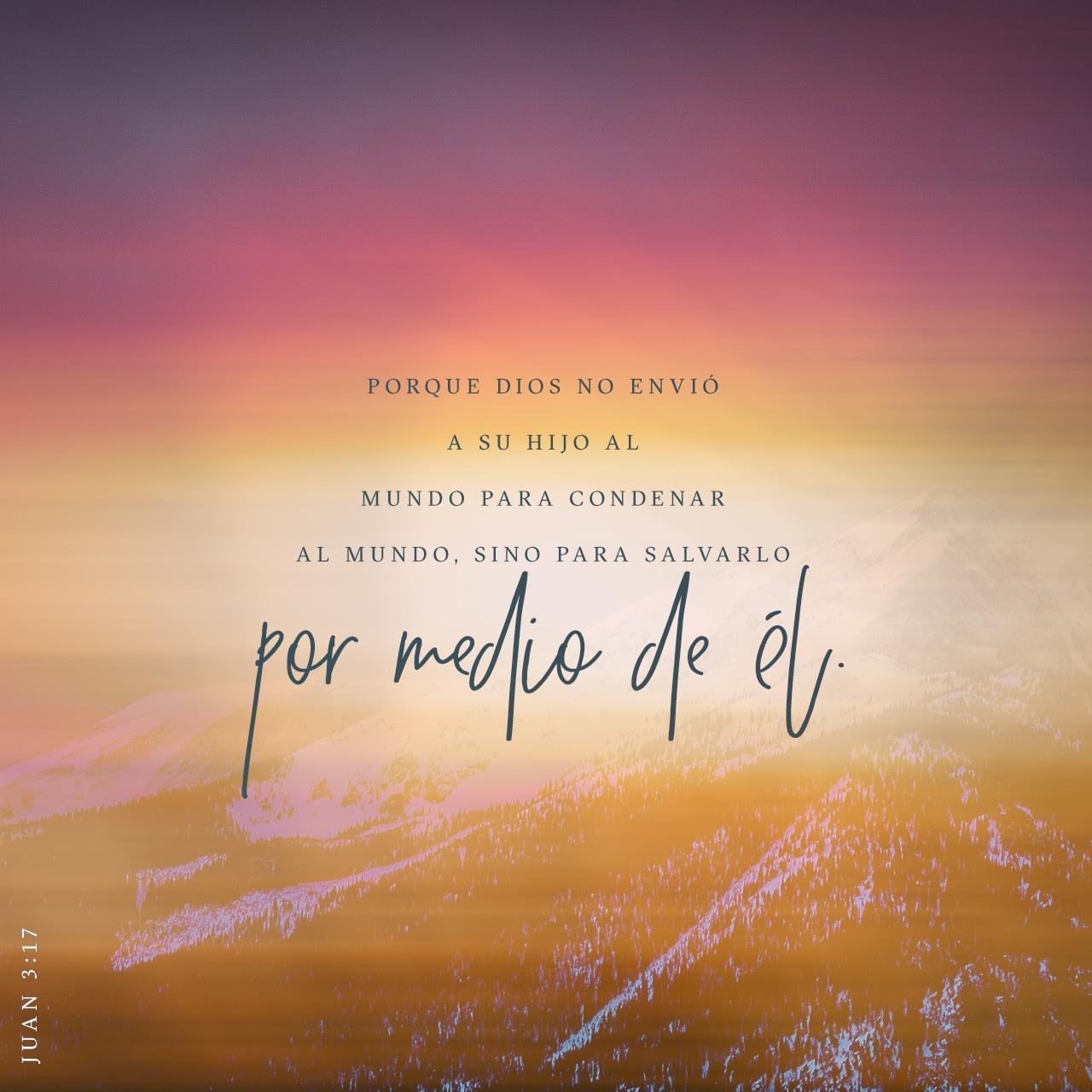 Juan 3:17 Imagen del Versículo