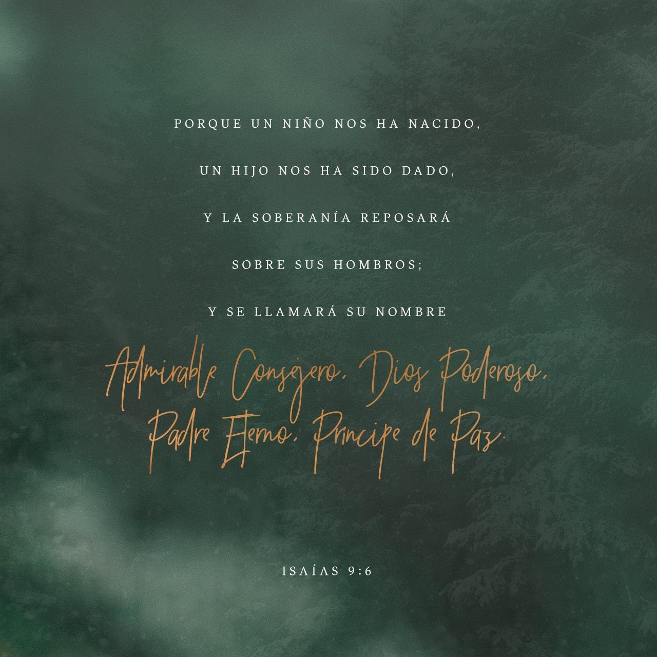 Isaías 9:6 Imagen de Versículo