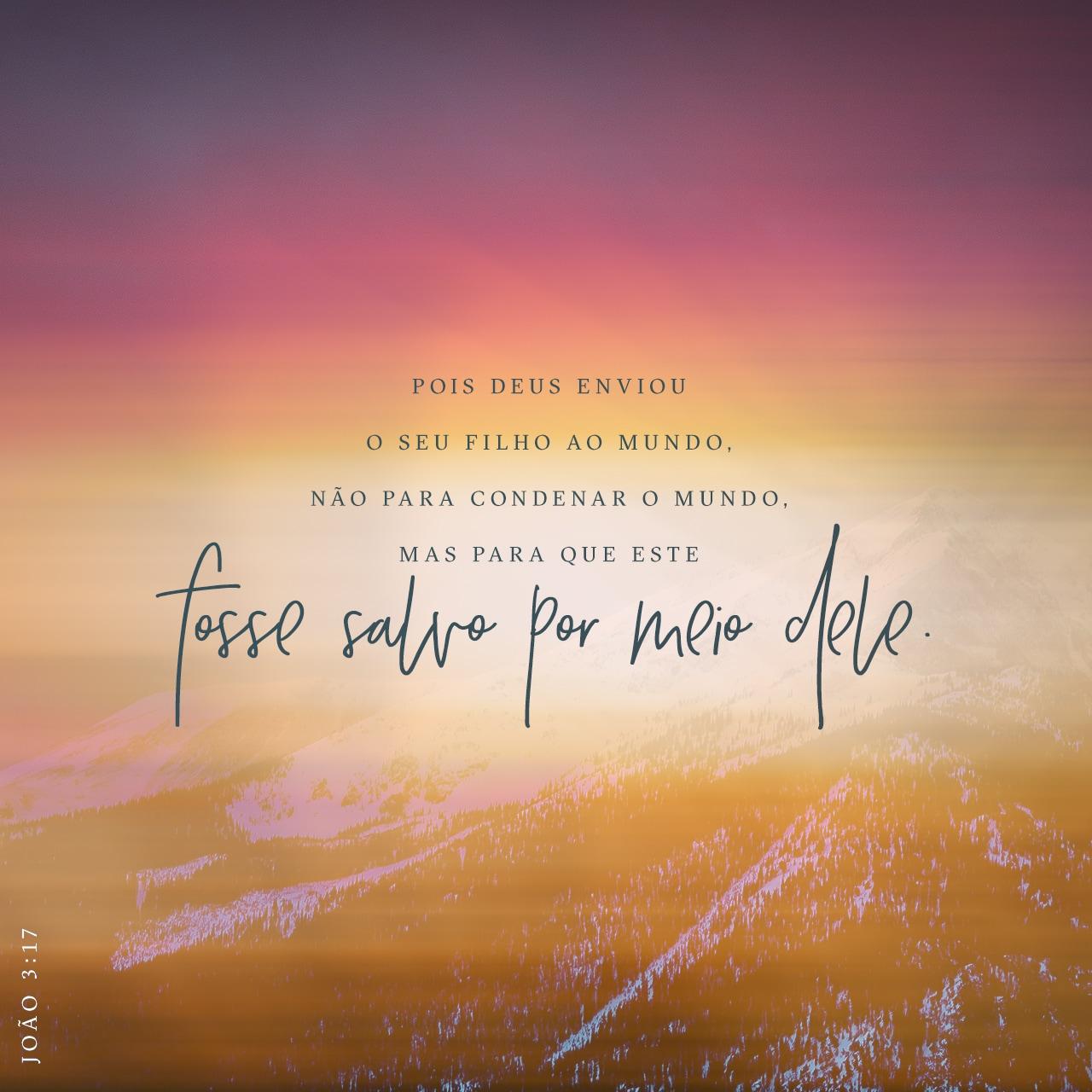 Imagem do Versículo João 3.17