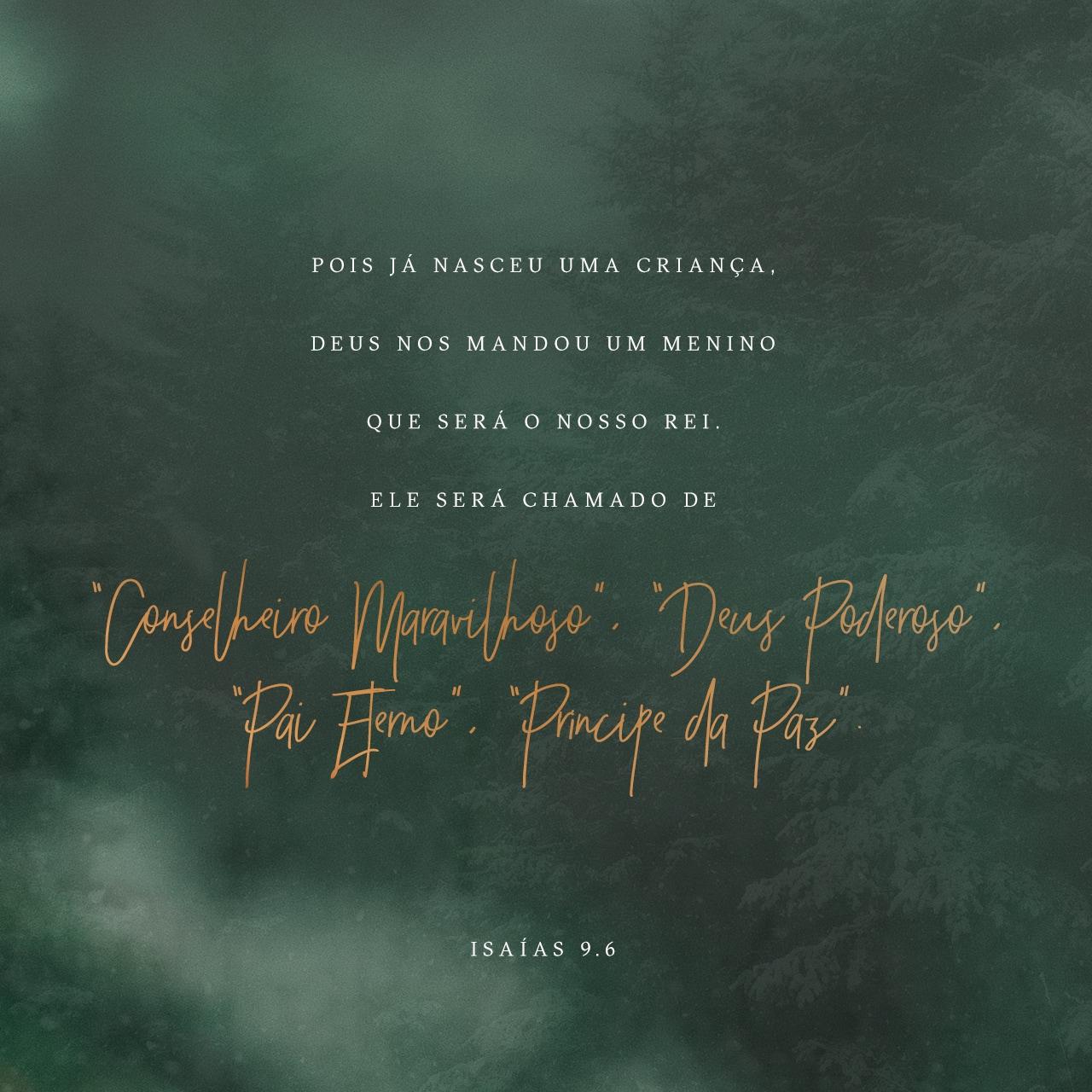 Isaías 9:6 Imagem do Versículo