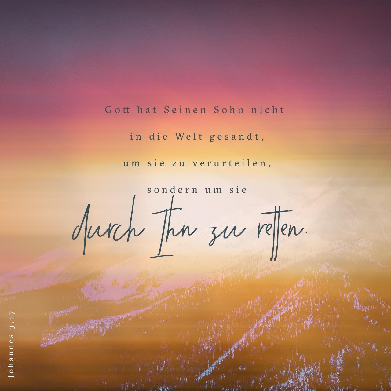 Versbild: Johannes 3,17