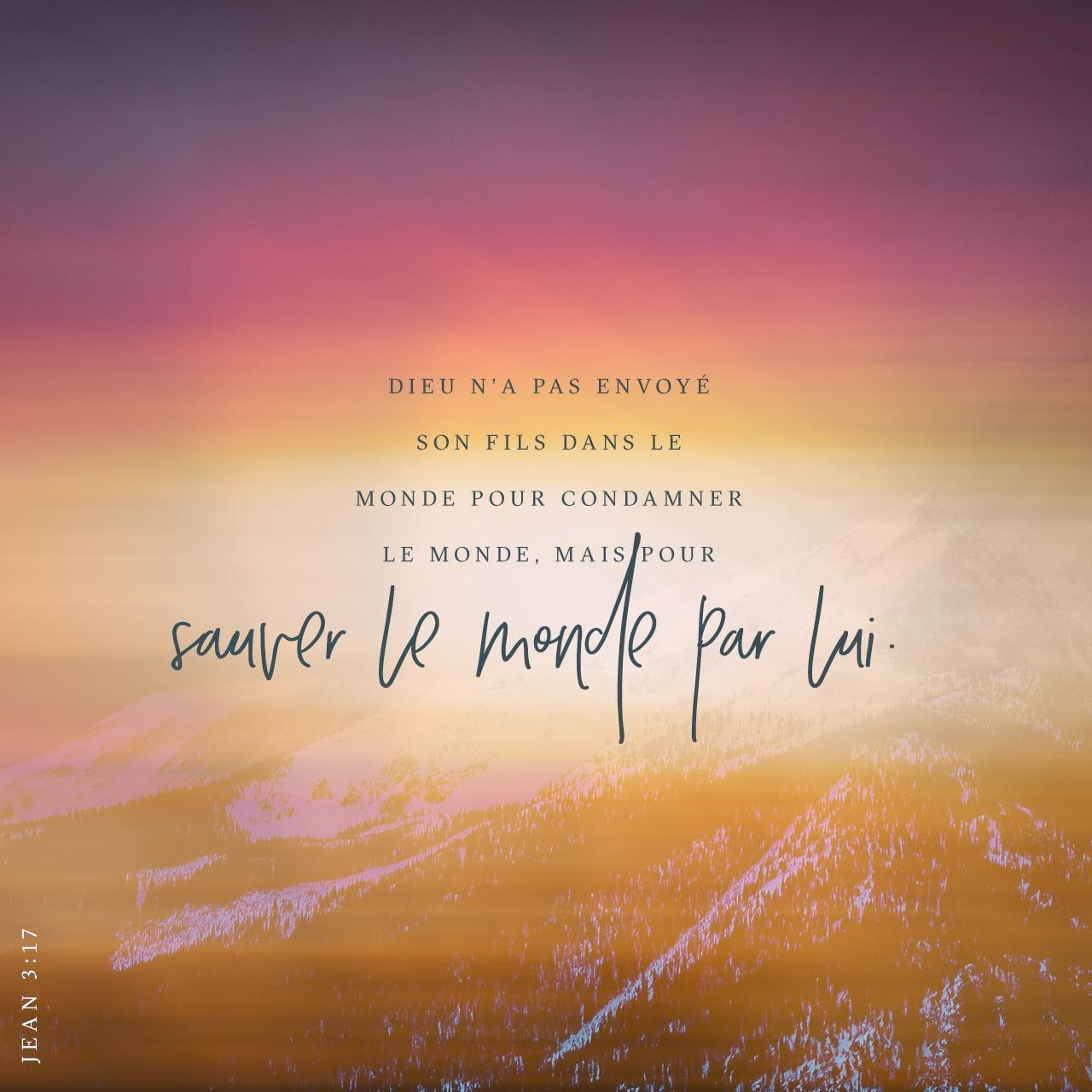 John 3:17 Verset Illustré