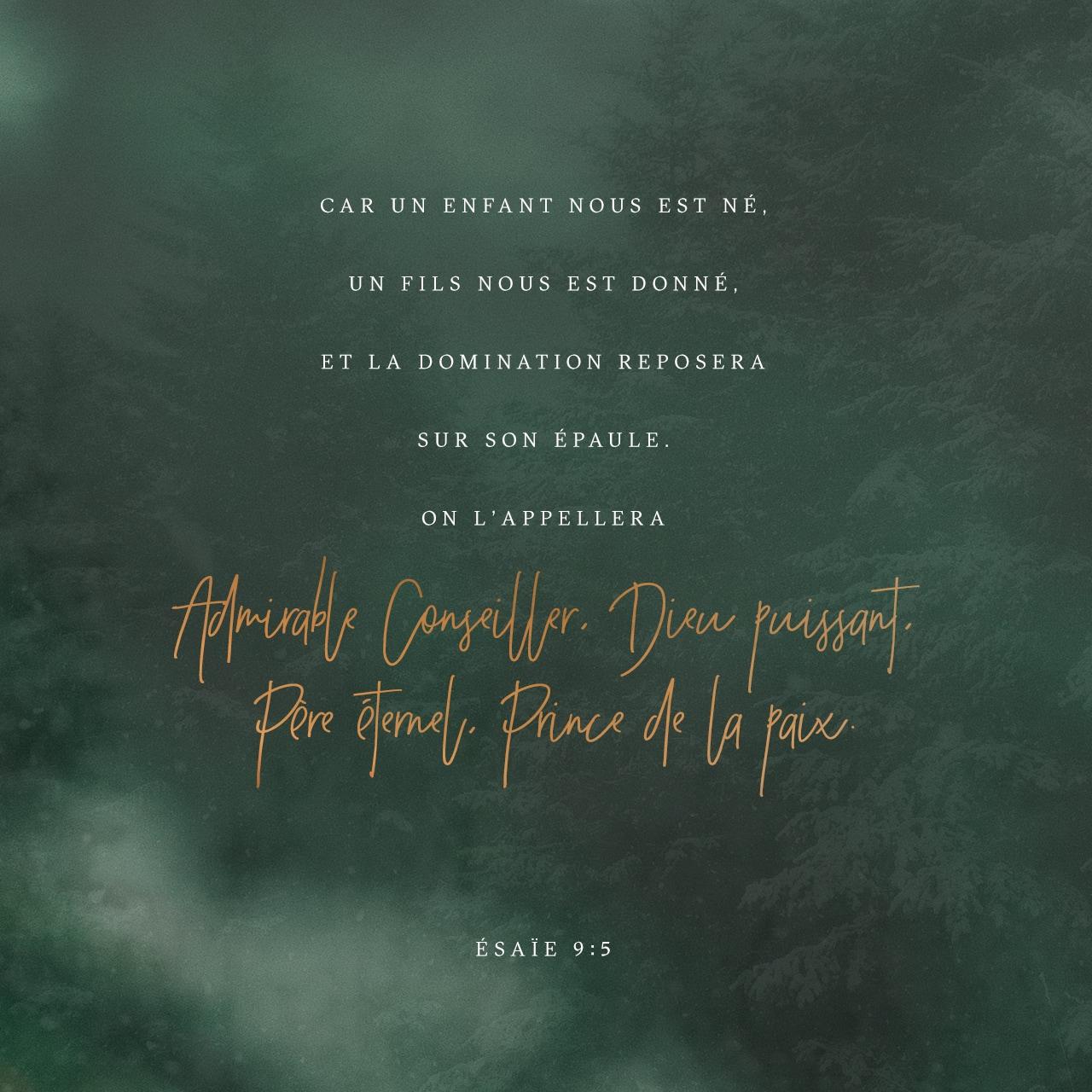 Ésaïe 9:6 verset Image