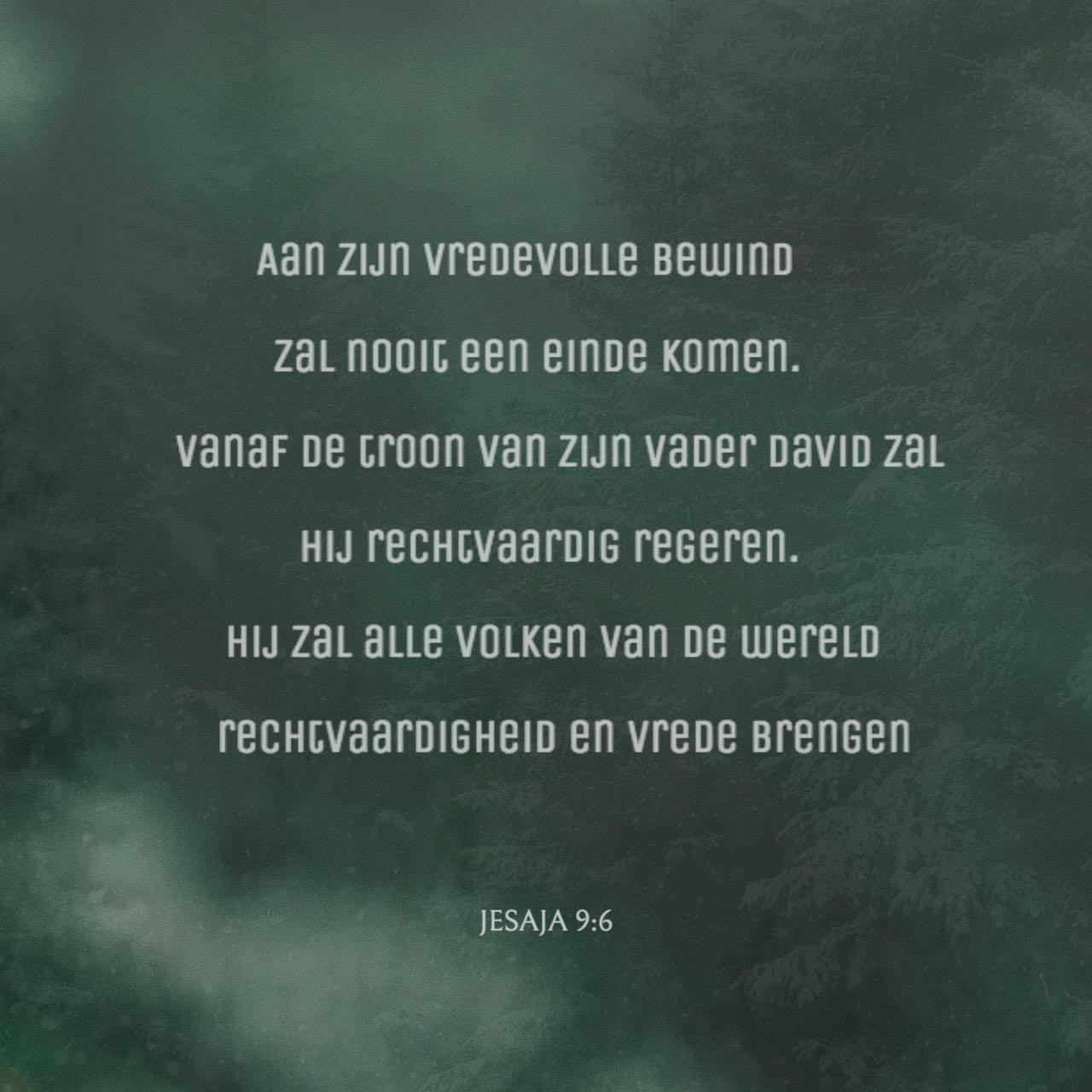 Versafbeelding Jesaja 9:6