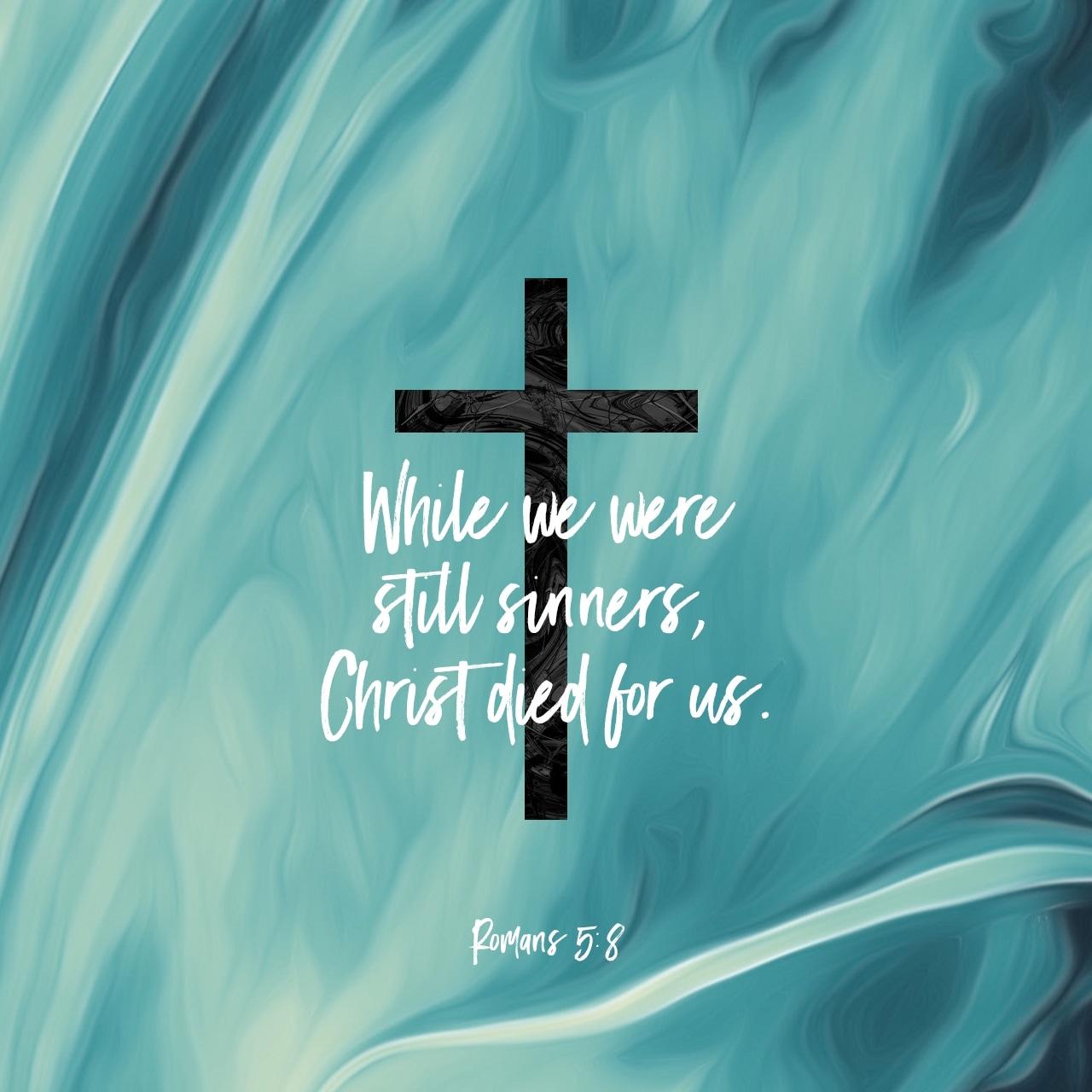 Romans 5:8 Verse Image