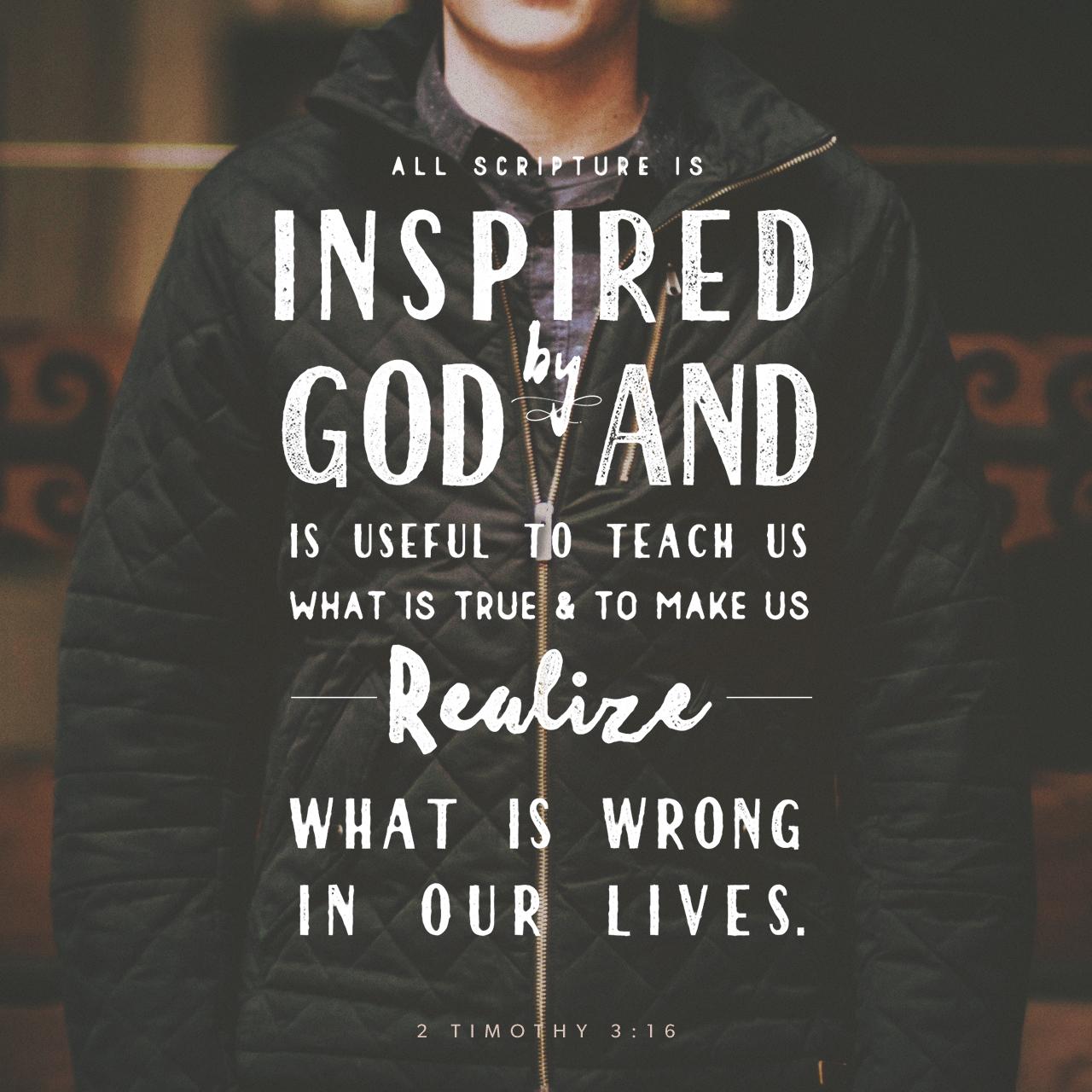 2 Timothy 3 16 Nlt